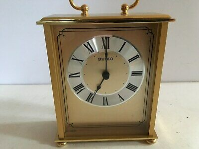 Beautiful Solid Brass Seiko Mantle Clock