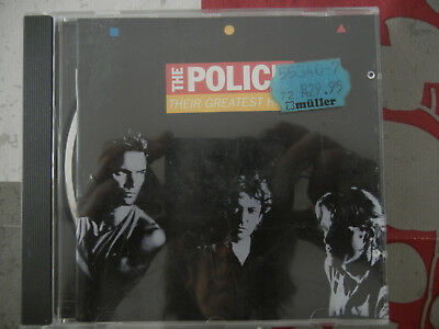 CD - The Police, Their greatest Hits, 08283970952