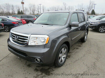 2015 Honda Pilot 4WD 4dr Touring w/RES & Navi 4WD 4dr Touring w/RES & Navi SUV Automatic Gasoline V6 Cyl Modern Steel Metallic