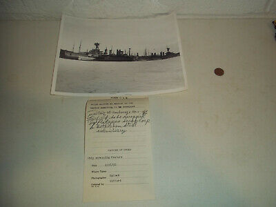 Vintage 1950 Ships Waiting To Be Scrapped Baltimore Md Press Photograph