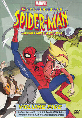 The Spectacular Spider-Man: Vol. 5 (Bilingual) *new Dvd