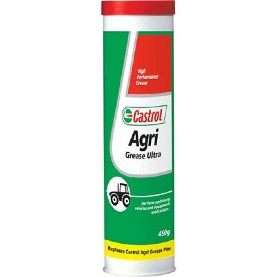 Castrol Agri Plus Ultra Grease Cartridge - 450g Box of 12