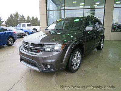 2017 Dodge Journey GT AWD GT AWD Low Miles 4 dr SUV Automatic V6 Cyl Granite Pearlcoat