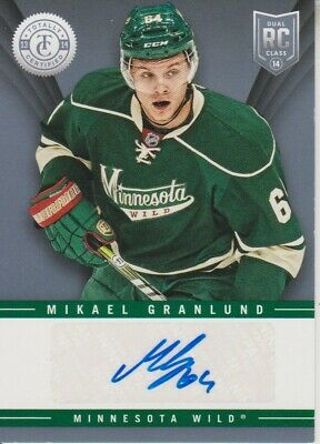 2013-14 Totally Certified Rookie Signatures Mikael Granlund - Minnesota Wild