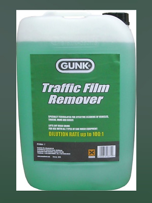 Traffic Film Remover Non Caustic 25 Litre Car Truck Bus Vehicle Gunk Tfr 25L