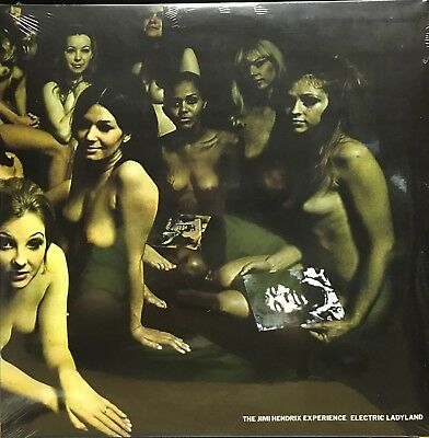 Jimi Hendrix, Electric Ladyland, Gatefold Banned Nude Cover Vinyl 2Lp