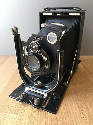 Vintage 'Nagel 25' Folding Camera & Accessories-Restoration/Repair!