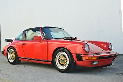 1986 Porsche 911 3.4L Targa how Quality Hot Rod-Same Owner last 22 years-Fully Documented History- FL CAR