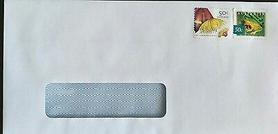 500 x prepaid $1 stamped Window Faced self seal envelopes 220mm x 120mm