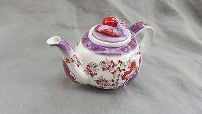 Red Hat Society Paul Cardew Tea Time Teapot 2004