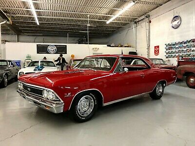 1966 Chevrolet Chevelle SS 1966 Chevy Chevelle SS * 396 / L-78 375 Hp / 4 Speed/ Posi! Regal Red! True SS!