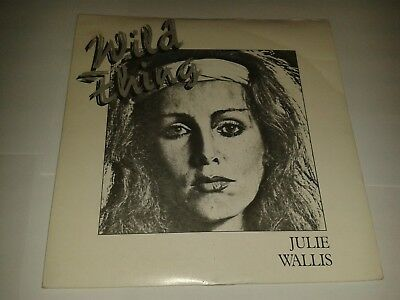 """Julie Wallis – """"Wild Thing""""  7"""" (1982) / """"(I Used To Be) Your Number One""""  LOG1"""