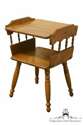 """Solid Hard Rock Maple Colonial Style 18"""" Accent End Table 1533"""