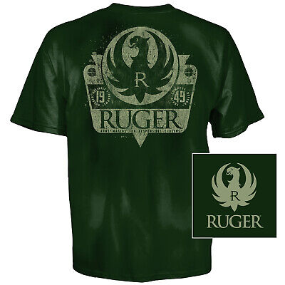 Ruger Shield T-Shirt (2X)- Forest Green