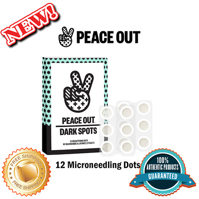 PEACE OUT Microneedling Dark Spot Brightening Dots, Authentic, Free Ship 12 Dots