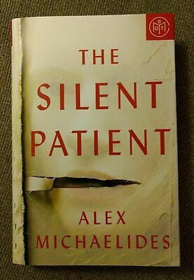 The Silent Patient hardcover BOTM by Alex Michaelides Medical Mystery Psychology
