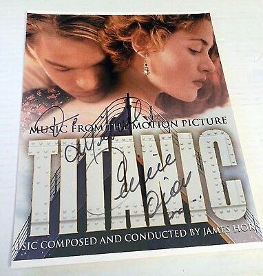 CELINE DION SIGNED PHOTO 8x10 100% GUARANTEED AUTHENTIC TITANIC MY HEART WILL GO