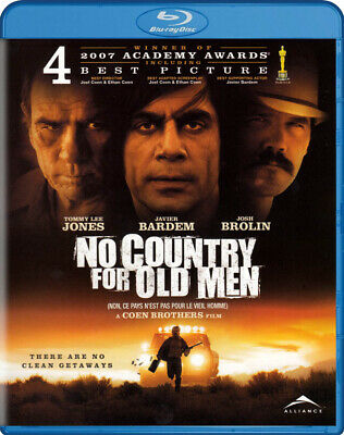No Country For Old Men New Blu-ray