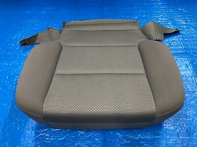 14-18 Chevrolet Silverado Ls Front Seat Cover Bottom Cloth Gray Fit Left / Right