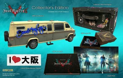 DMC Devil May Cry 5 COLLECTOR'S Edition PlayStation 4 PS4 NEW