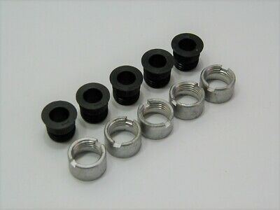 (5) 5/16 ID Threaded Template Drill Bushing with Lock Collars