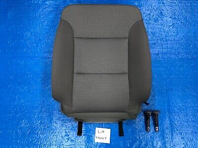 2016 2017 2018 Chevrolet Silverado Ls Left Front Seat Cover Backrest Cloth Gray