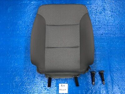 2016 2017 2018 Chevrolet Silverado Ls Right Front Seat Cover Backrest Cloth Gray