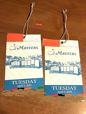 2 - 2019 Masters Practice Round Tickets - Tuesday April 9, 2019