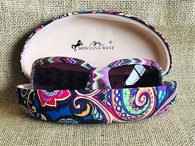 45844d2618f0 Western Bling Cowgirl MONTANA WEST Sunglasses Aztec Boho Beach Concho UV 400  F
