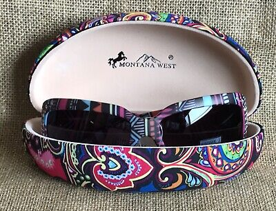 b1e3a39aad1 Western Bling Cowgirl MONTANA WEST Sunglasses Aztec Color Boho Concho UV  400 B