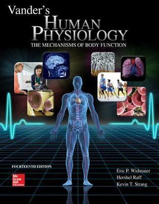Hardcover Vander's Human Physiology by Kevin Strang, Eric Widmaier and Hershel