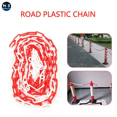 Health & Safety 6mm Plastic Barrier Chain Link 4 Colors Safety Decorative 5m/10m