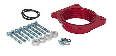 Airaid Throttle Body Spacer Red Anodized 1 Ford EA 400531