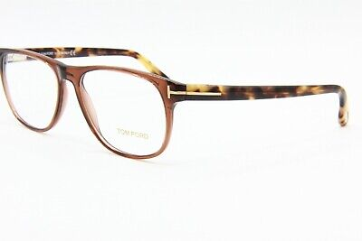 3774dfe9c904 New Tom Ford Tf 5362 048 Brown Authentic Eyeglasses Frame Rx Tf5362 55-16