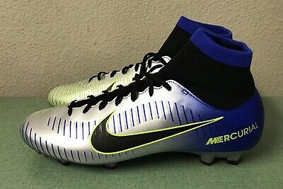 quality design d6bcf 3de46 NIKE MERCURIAL VICTORY VI DF FG Mens Sz 11 NJR Neymar Jr Soccer Cleats  Chrome
