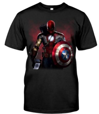 Avengers End Game New Marvel Movie Avengers 4 2019 Shirt sz M-3XL US Tee cotton