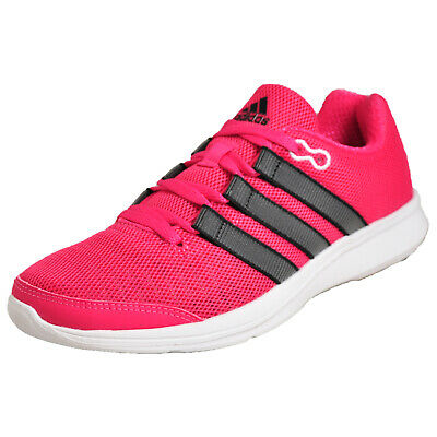 a006f949c689 Adidas Lite Runner Women's Running Shoes Fitness Gym Workout Trainers Pink