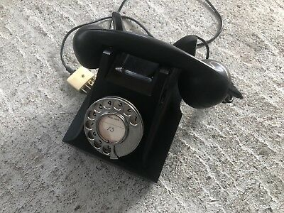 1959 Vintage Antique old telephone Bakelite PMG,excel condition,AWA 59 S.1/40