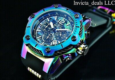 Invicta Men's 50mm Mammoth Bolt Abalone Dial IRIDESCENT Tone Stainless St Watch