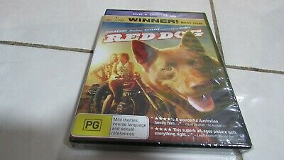 Red Dog (DVD, 2014) True Australian, FREE registered Post. Brand New in plastic