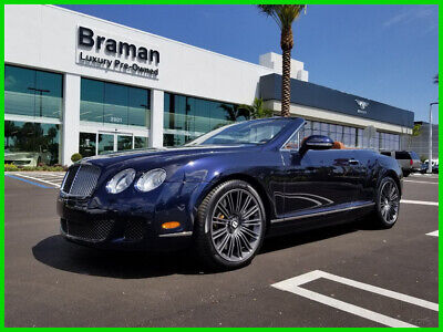 2010 Bentley Continental GT Speed 2010 Speed Used Turbo 6L W12 48V Automatic AWD Premium