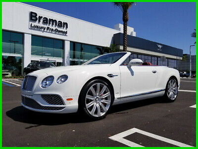 2018 Bentley Continental GT W12 2018 W12 Used Turbo 6L W12 48V Automatic AWD Premium