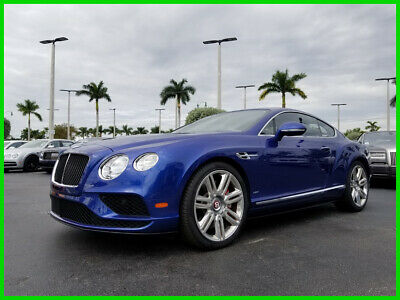 2017 Bentley Continental GT V8 S 2017 V8 S Used Turbo 4L V8 32V Automatic AWD Premium