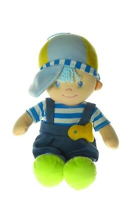 William Nautilus Rag Doll toy for babies and young children