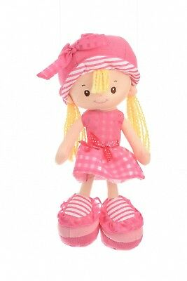 Strawberry Cream soft Rag Doll toy for babies and young children