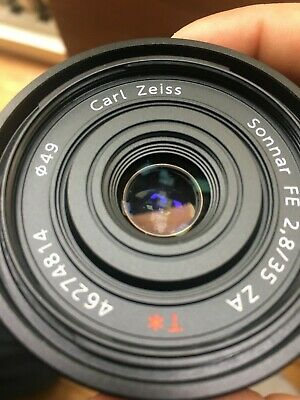 Sony Zeiss Sonnar T* 35mm F/2.8 ZA FE Lens