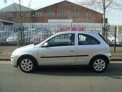 Vauxhall Corsa 1.2i 16v 2005MY SXi, 86000 MILES, 7 SERVICE STAMPS TO 65000