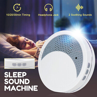 Deep Sleep Spa Relax Machine White Noise Baby Peace Nature Night Therapy Timing