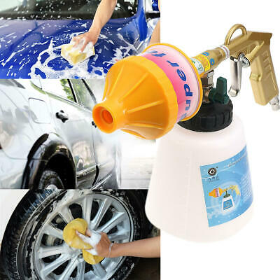 Tornado Pulse Foam Soap Cleaning Cleaner Sprayer Tool Plastic Bottle 1L Auto Car