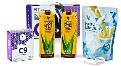 Forever Living Clean 9 Aloe Vera Detox Program - Vanilla flavor, KOSHER/HALAL